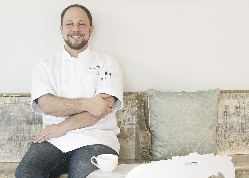Patrick Devine, assistant pastry chef at La Patisserie Chouquette - MABEL SUEN