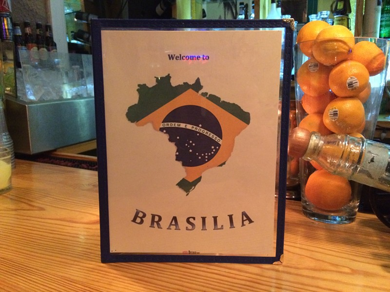 Brasilia serves authentic Brazilian cuisine in the heart of South Grand. - CHERYL BAEHR