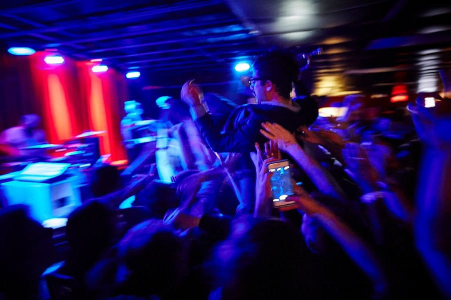 St. Louis' Foxing played a sold-out show at the Firebird this week. Where were you? - PHOTO BY THEO WELLING