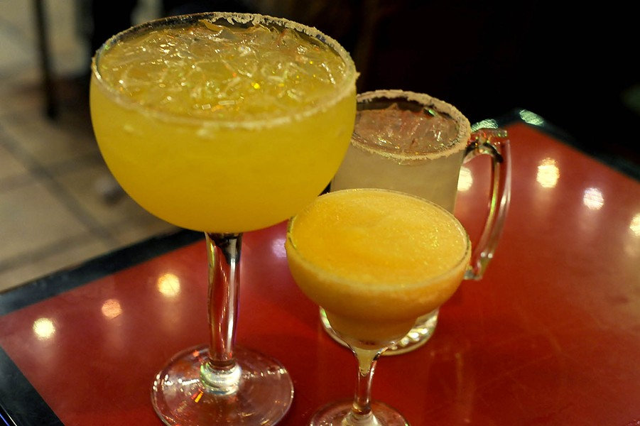 The margaritas at Chimichanga's — cheap and delicious. - PHOTO BY KELLY GLUECK