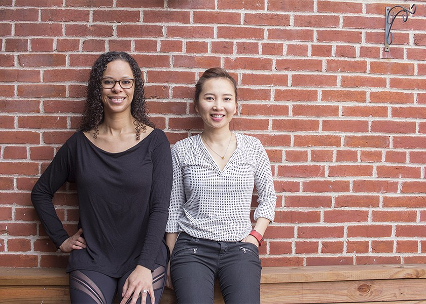 "Co-owners Misha K. Sampson and Alexis ""Lina"" Kim. - PHOTO BY MABEL SUEN"