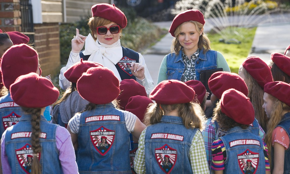 The film's fight scene, featuring McCarthy and a faux Girl Scout troupe, is hilarious - (C) UNIVERSAL PICTURES