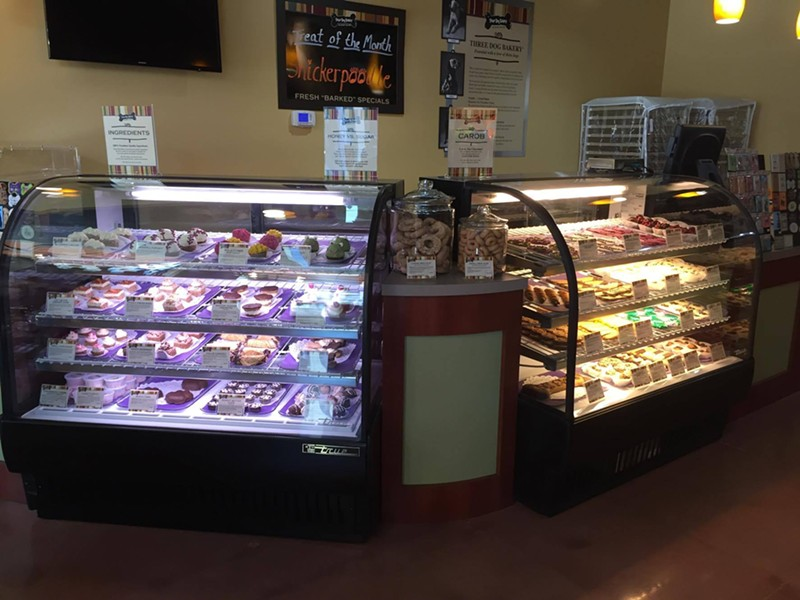 Pastry cases galore. - KATELYN MAE PETRIN
