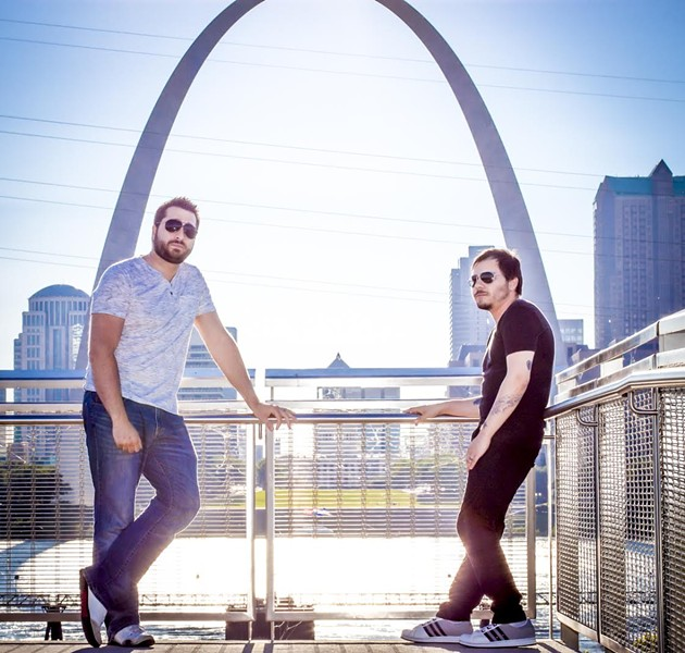 """Serbsican's Andrija """"Dre"""" Divac (left) and Emilio Hernandez are both St. Louis born and raised. - PHOTO BY ISMAEL VALENZUELA"""