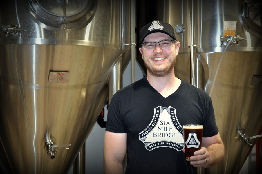 Ryan Sherring, brewmaster - COURTESY OF SIX MILE BRIDGE