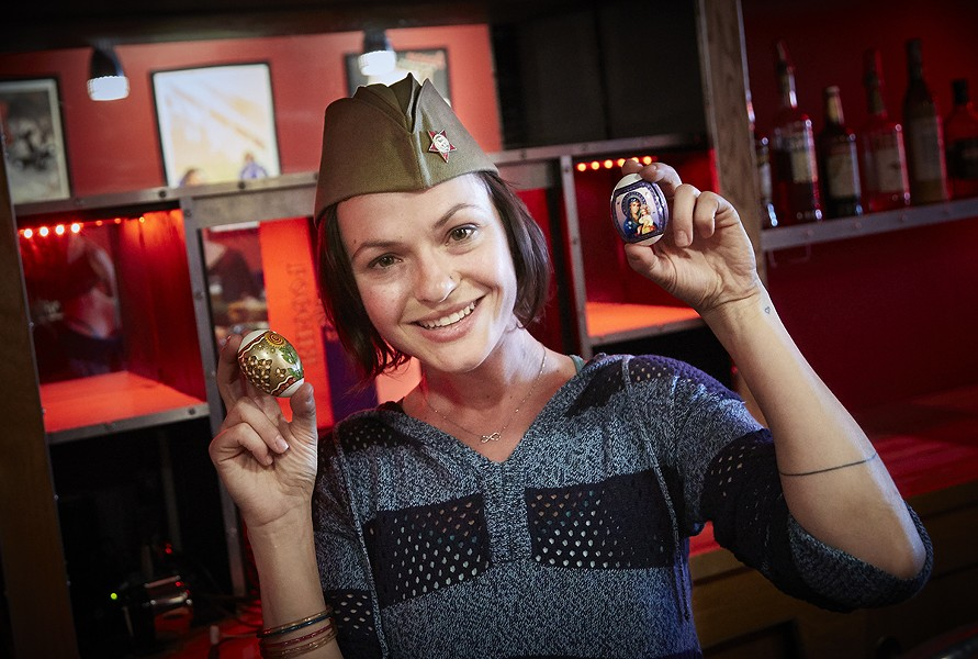 Tatyana Telnikova is going full Russian for her new bar on Cherokee Street. - PHOTO BY STEVE TRUESDELL