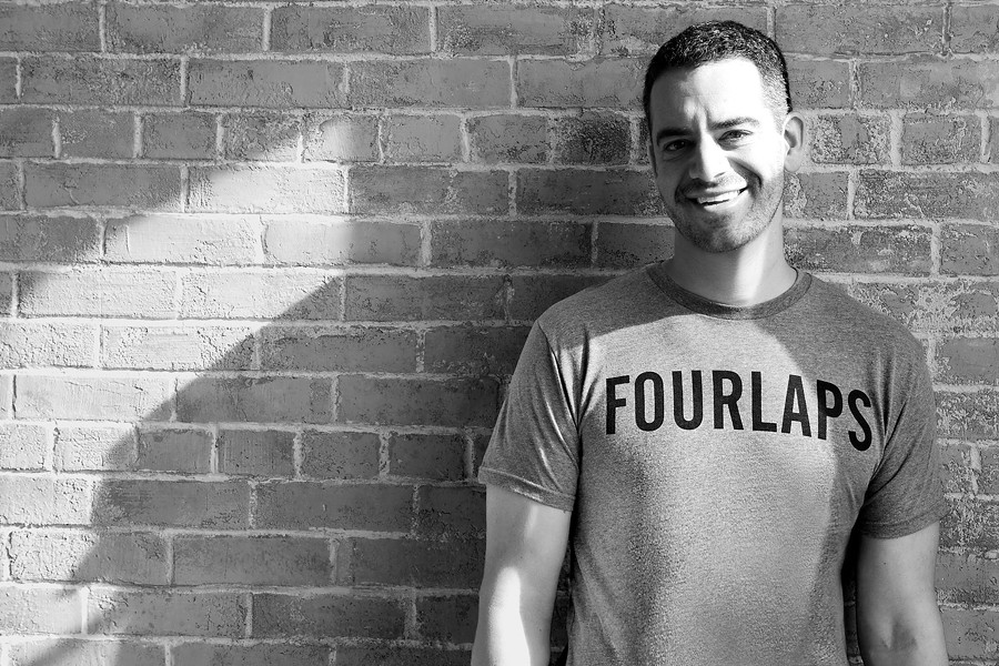 Daniel Shapiro is the sole pioneer of Fourlaps, a men's athletic apparel brand - PHOTO COURTESY OF KUCERAK & CO.