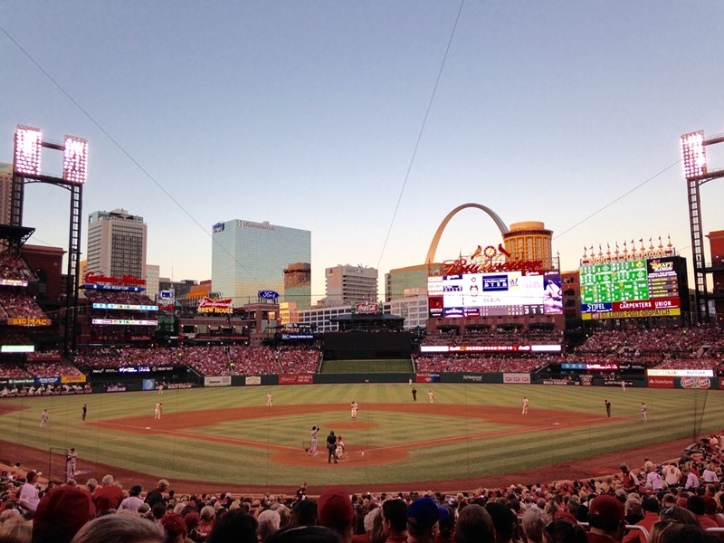 Two St. Louis Cardinals games will be broadcast in Spanish this month. - PHOTO BY DOYLE MURPHY