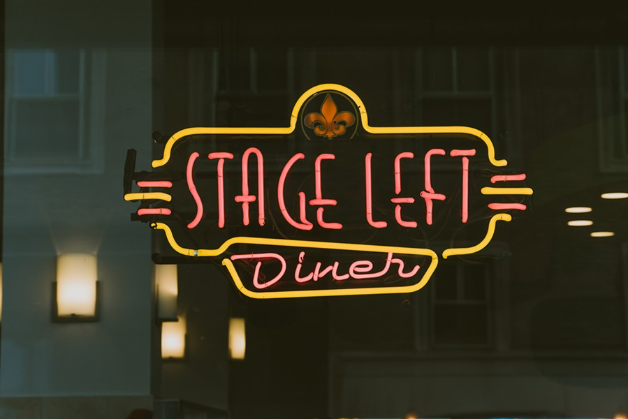 Stage Left Diner brings comfort food to Midtown this month. - ALEC WALLIS