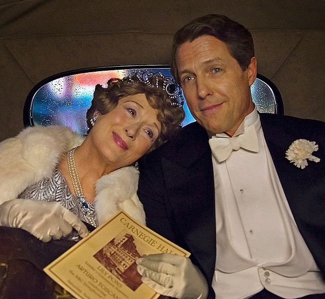 Helen Mirren and Hugh Grant in Florence Foster Jenkins. - © 2016 PARAMOUNT PICTURES. ALL RIGHTS RESERVED