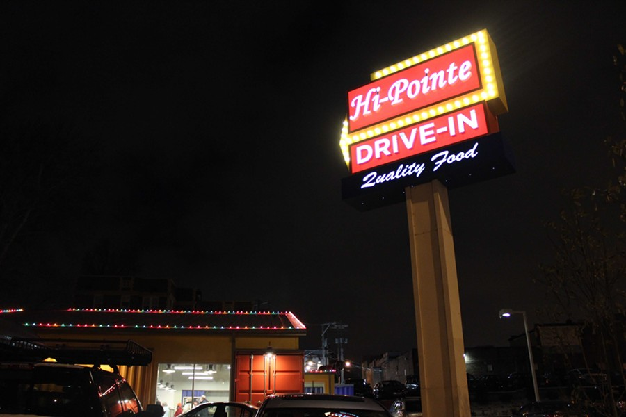 Hi-Pointe Drive-In is located in the former home of Del Taco on McCausland Avenue. - PHOTO BY LAUREN MILFORD