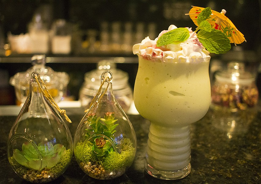 One of VietNam Style's specialties is its fresh avocado smoothies. - PHOTO BY MABEL SUEN
