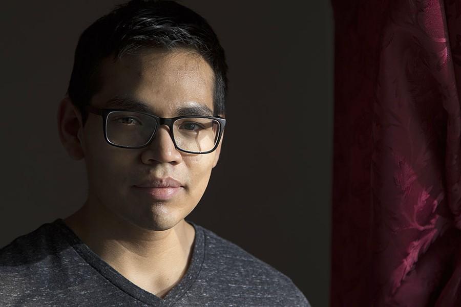 Juan Carlos Valladares-Hernandez is a pre-med student at SIUE. - ZIA NIZAMI