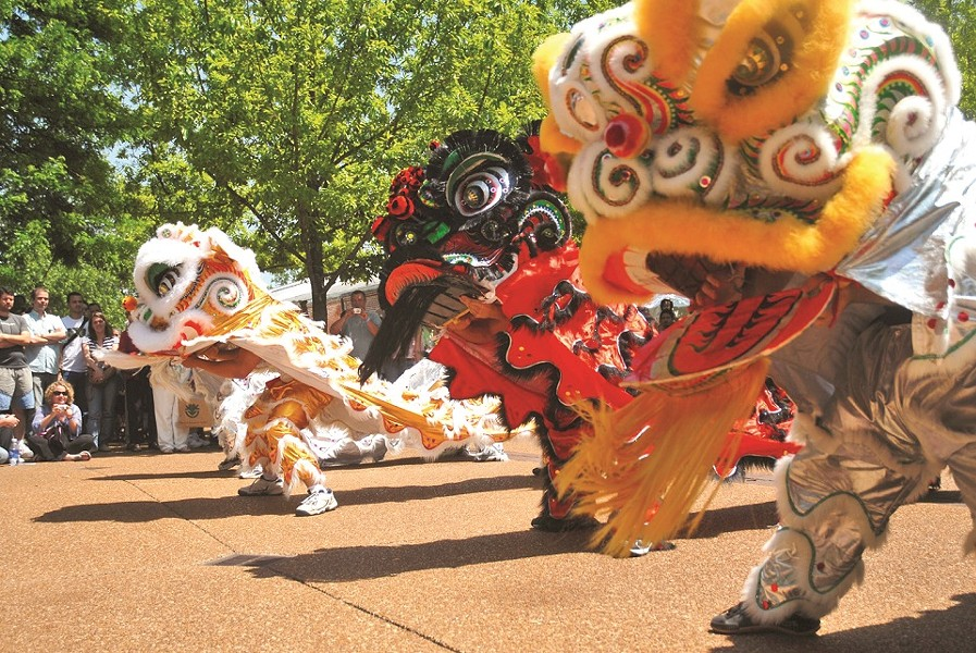 Chinese Culture Day is a riot of colorful activities. - JOSH MONKEY/COURTESY OF THE MISSOURI BOTANICAL GARDEN