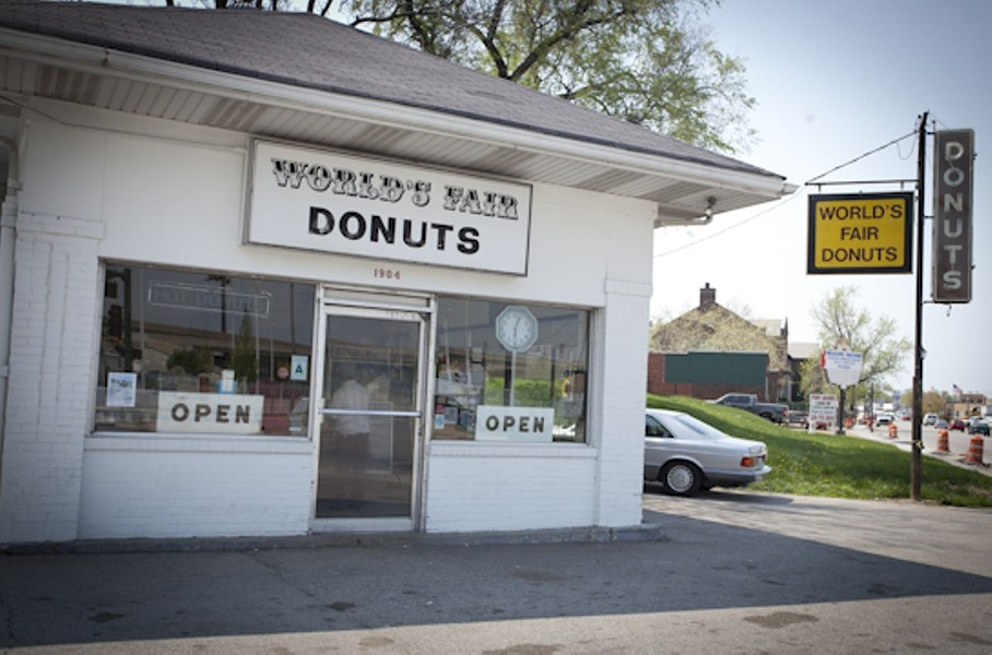 World's Fair Donuts: You won't need to worry about parking if you're on a bike. - RFT FILE PHOTO