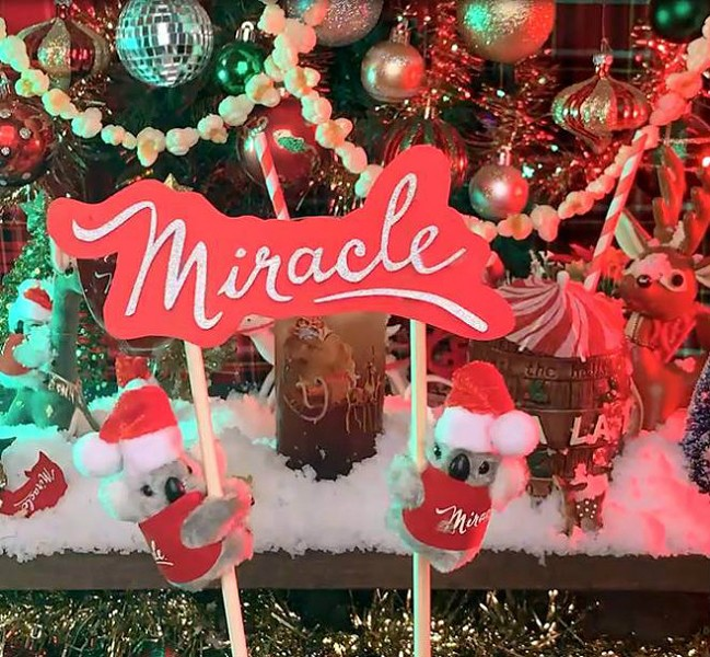 Miracle, the holiday-themed pop-up bar, returns to St. Louis this November. - COMPLIMENTS OF MIRACLE
