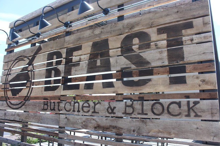 BEAST Butcher & Block, a multi-faceted barbecue complex, opened in the Grove on June 15. - KATIE COUNTS