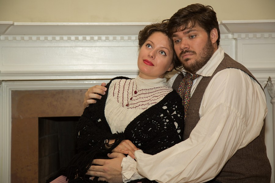 Union Avenue Opera presents La boheme, in which a great romance is almost undone by a nagging cough. - JOHN LAMB