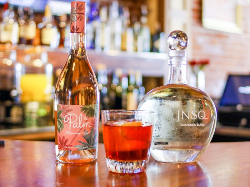 A Negroni with two house favorite wines. - CHELSEA NEULING