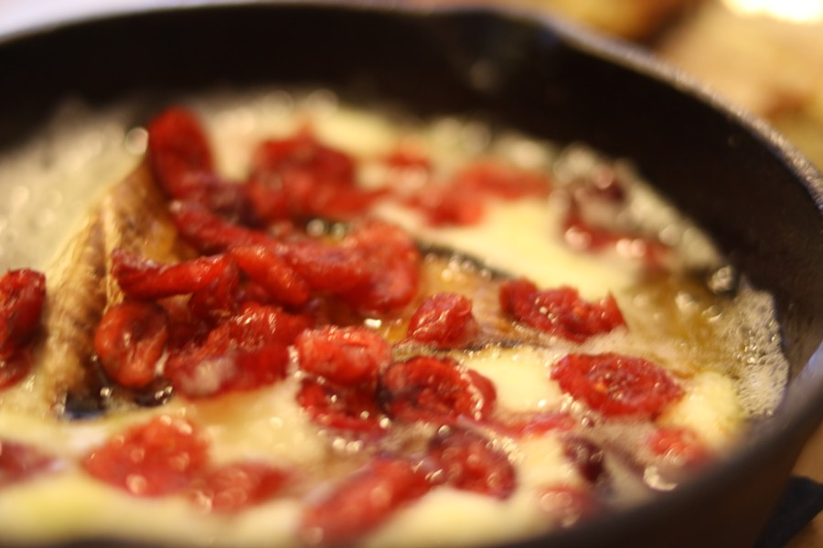 Sizzling brie is a popular sharable option. - CHELSEA NEULING