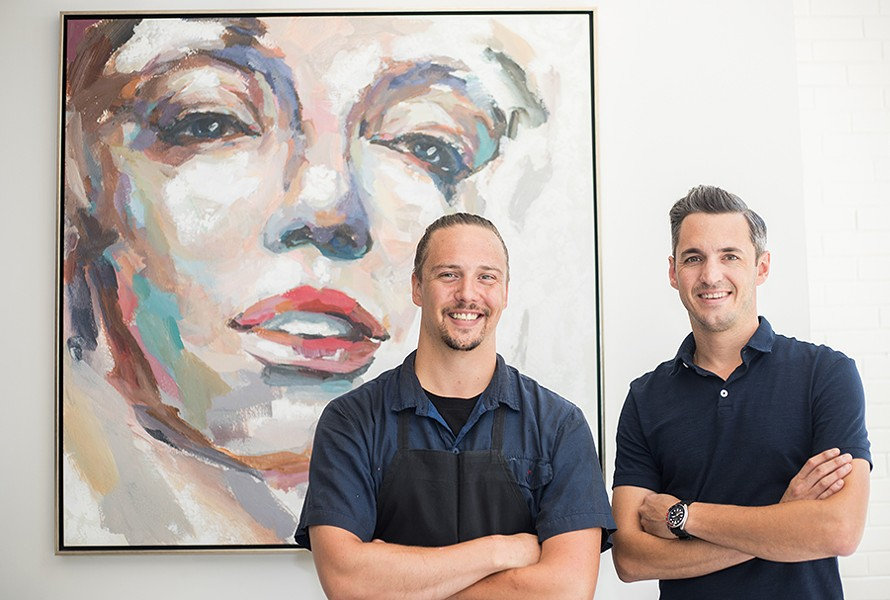 Executive chef Tim Adams, with operating partner Ryan French, are bringing something new to Italian in St. Louis. - MABEL SUEN