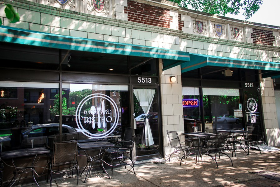 An exterior shot of West End Bistro. - CHELSEA NEULING