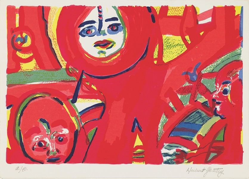 Herbert Gentry, American, 1919–2003; Today, 1987; screenprint; Saint Louis Art Museum, The Thelma and Bert Ollie Memorial Collection, Gift of Ronald and Monique Ollie 140:2017; © Estate of Herbert Gentry