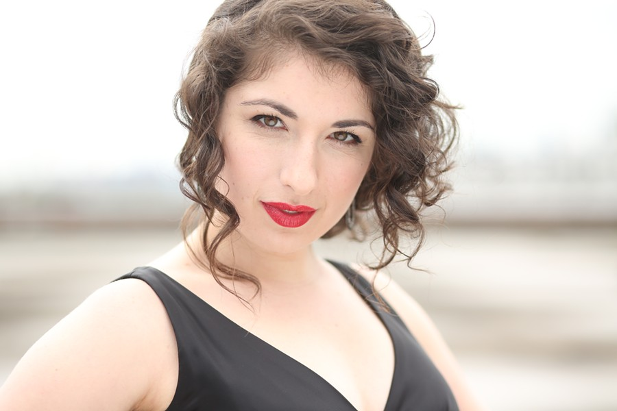 Soprano Chelsea Friedlander performs the role of Mabel in Winter Opera St. Louis' The Pirates of Penzance. - ATHLONE ARTISTS
