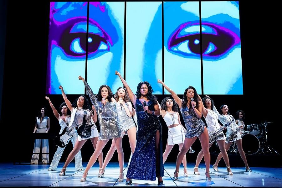Summer: The Donna Summer Musical runs through January 26. - © MATTHEW MURPHY/MURPHYMADE