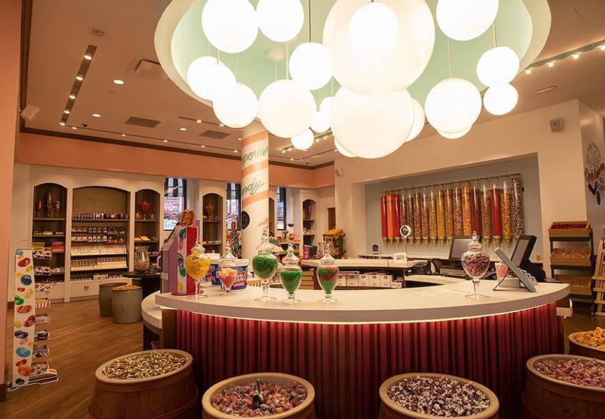 The restaurant's retro candy shop. - MABEL SUEN
