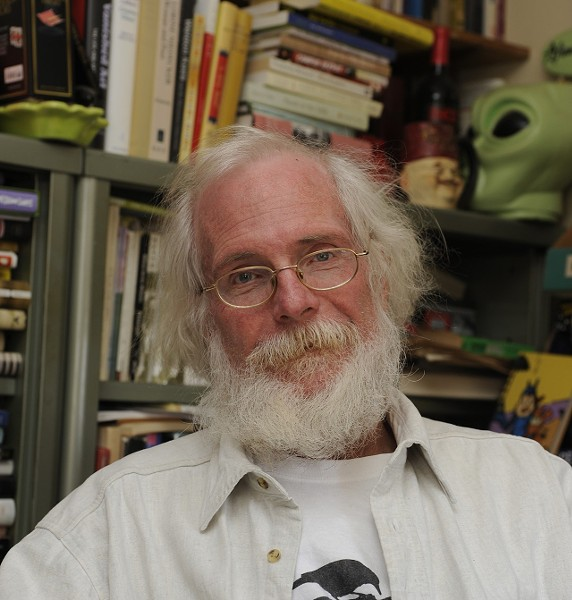 David Clewell worked as Missouri poet laureate from 2010 to 2012. - COURTESY WEBSTER UNIVERSITY
