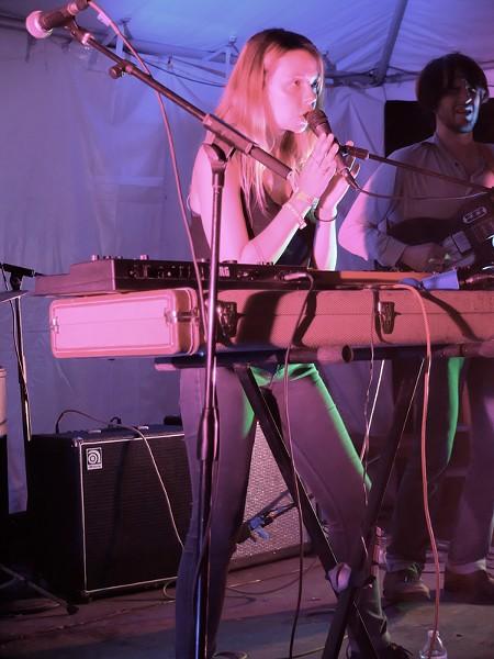 Laure Briard at Hotel Vegas - DANA PLONKA