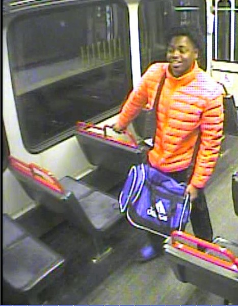 St. Louis police are trying to identify this 'person of interest' as part of MetroLink shooting investigation. - IMAGE VIA SLMPD
