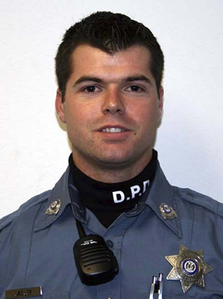 Josh Lasley was a police officer in Desloge before joining the St. Louis County Police Department. - IMAGE VIA DESLOGE POLICE DEPARTMENT