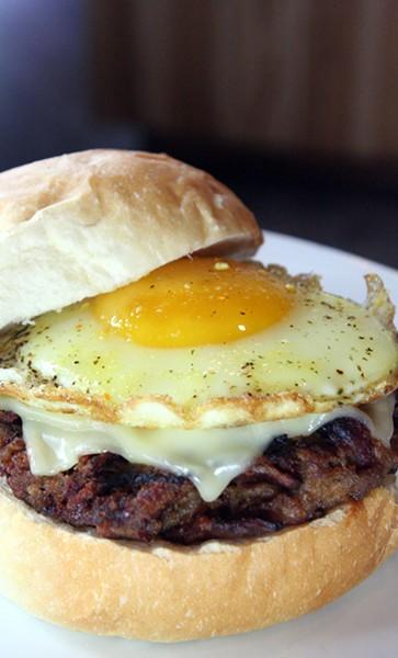 50/50 Burger - PHOTO BY JOHNNY FUGITT