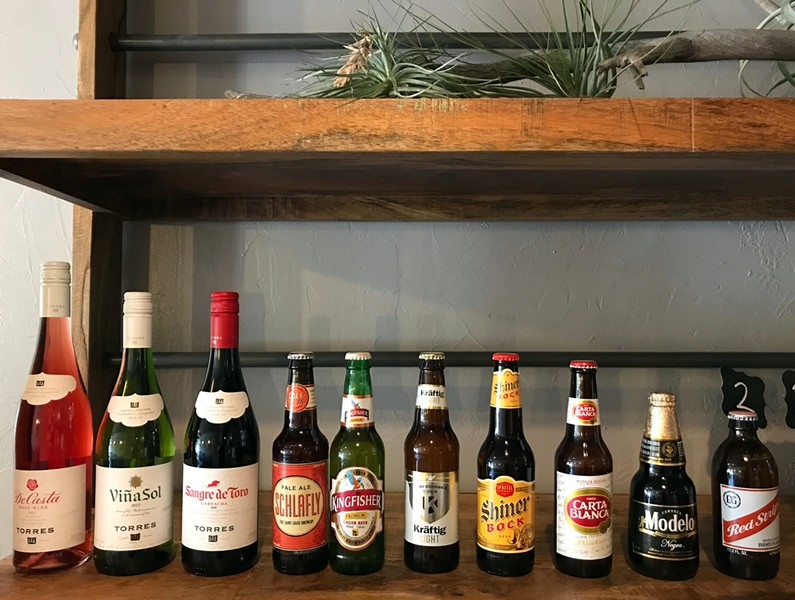 WINE AND BEER SELECTION | SARA GRAHAM
