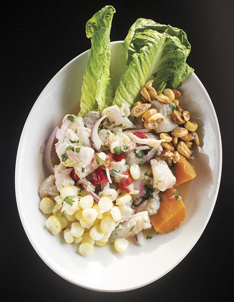Ceviche at Fairview Lounge. - MABEL SUEN