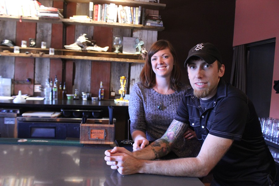 Pig & Pickle's general manager Carina Flesch and chef/owner Ryan Lewis - MELISSA BUELT