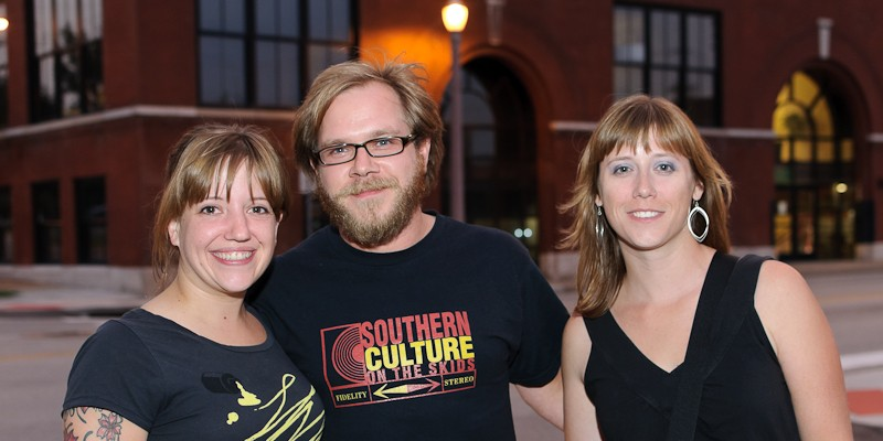 Jamie Lidell at the Old Rock House, 9/9/10 Rachael, Glen and Kim got to The Old Rock House a little early, and ran out to grab a bite before the show.
