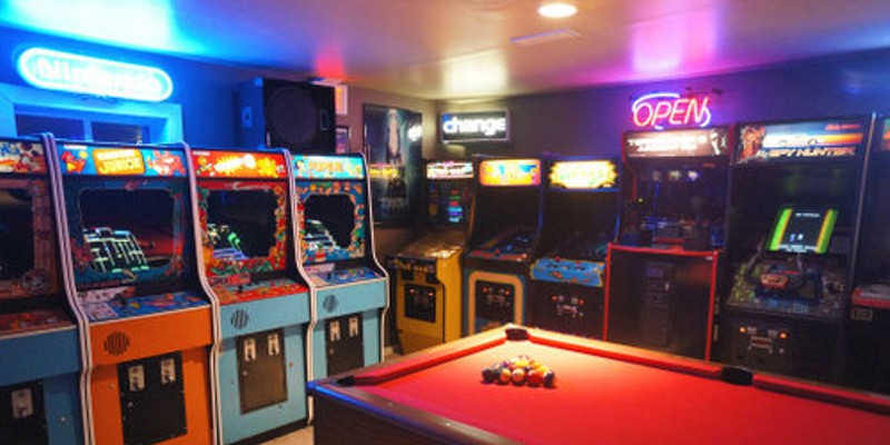 Coolest Pastor Ever Calls His Basement Full Of Arcade Games A Gift From God