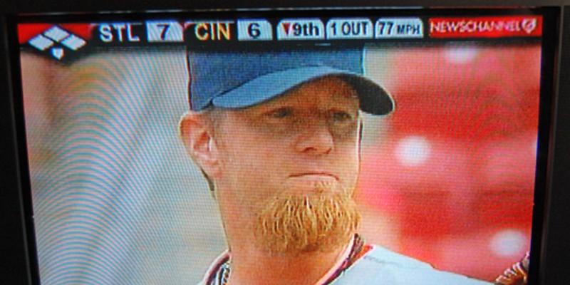Latin bearded raw weenies man