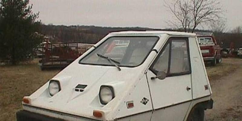 Found on Craigslist: 1975 Electric Car Looks Part-Golf Cart, Part