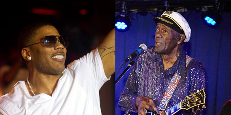 Nelly will portray the late Chuck Berry in the upcoming film.