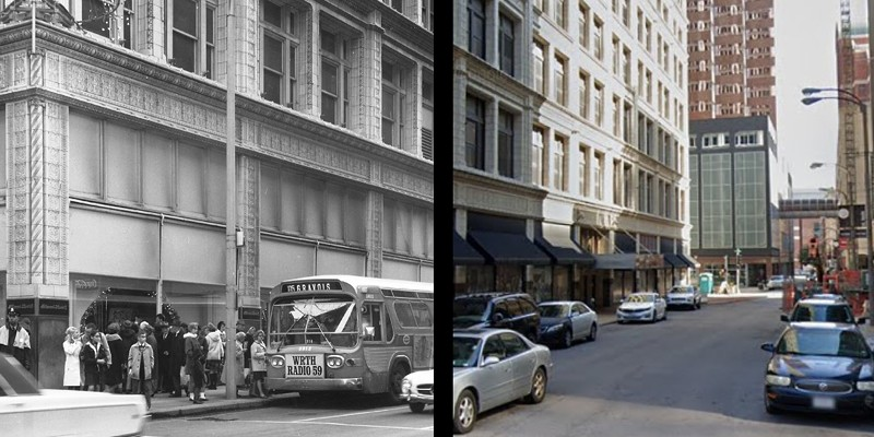 St. Louis Then and Now: The Former Famous-Barr Building Downtown