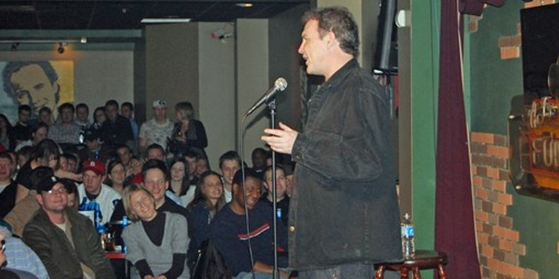 A Norm Macdonald show once had people packed into the club like sardines.