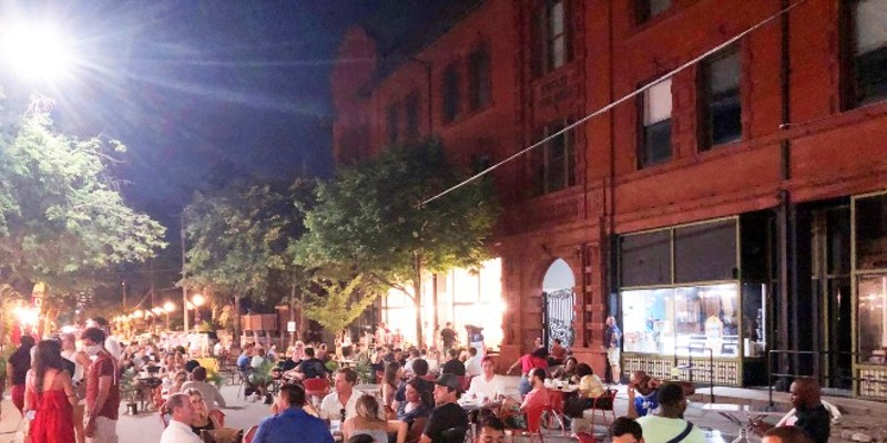 The streets of the Central West End will transform into the CWE Streatery this weekend.