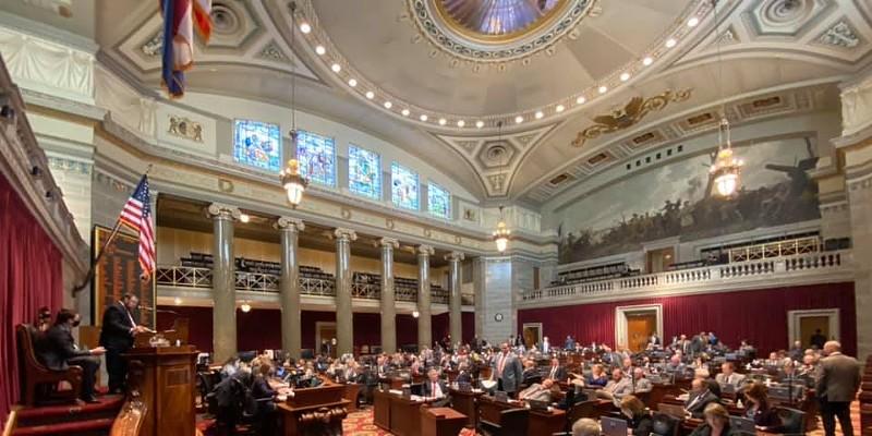 The Missouri House of Representatives.