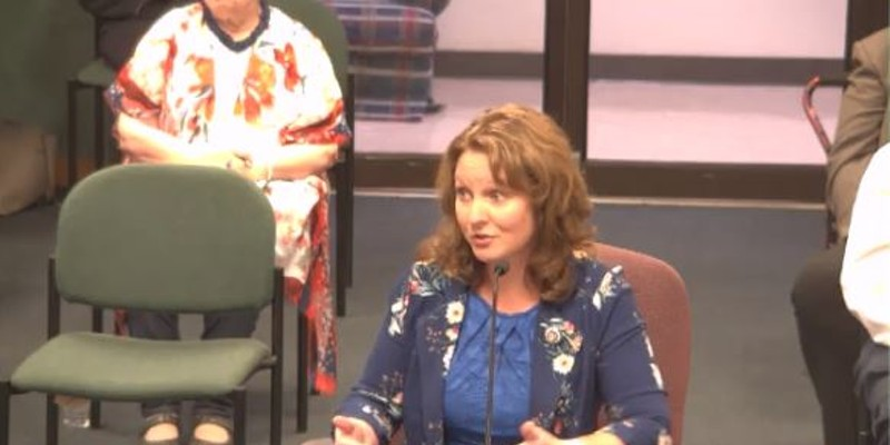 Rep. Ann Kelley goes full Mike Lindell during an August 24 meeting of the Missouri House Elections Committee.