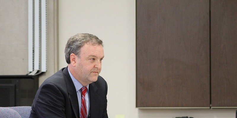 St. Louis County Executive Sam Page, shown in a file photo.