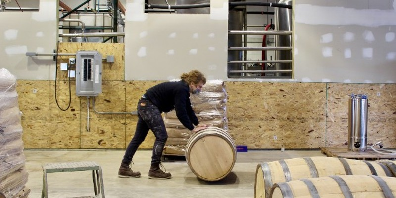 Switchgrass Spirits will soon be opening its distillery to the public.